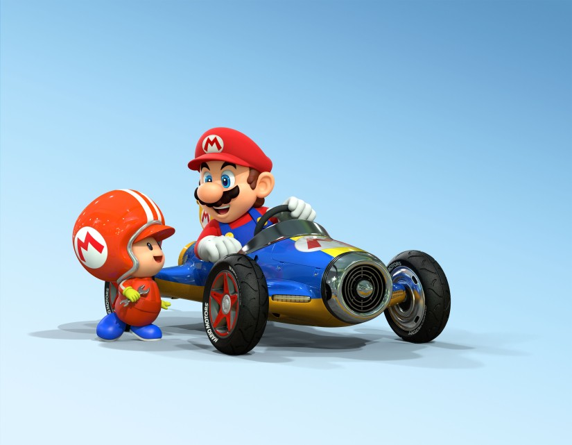 Here's The Trailer For Mario Kart Arcade GP DX