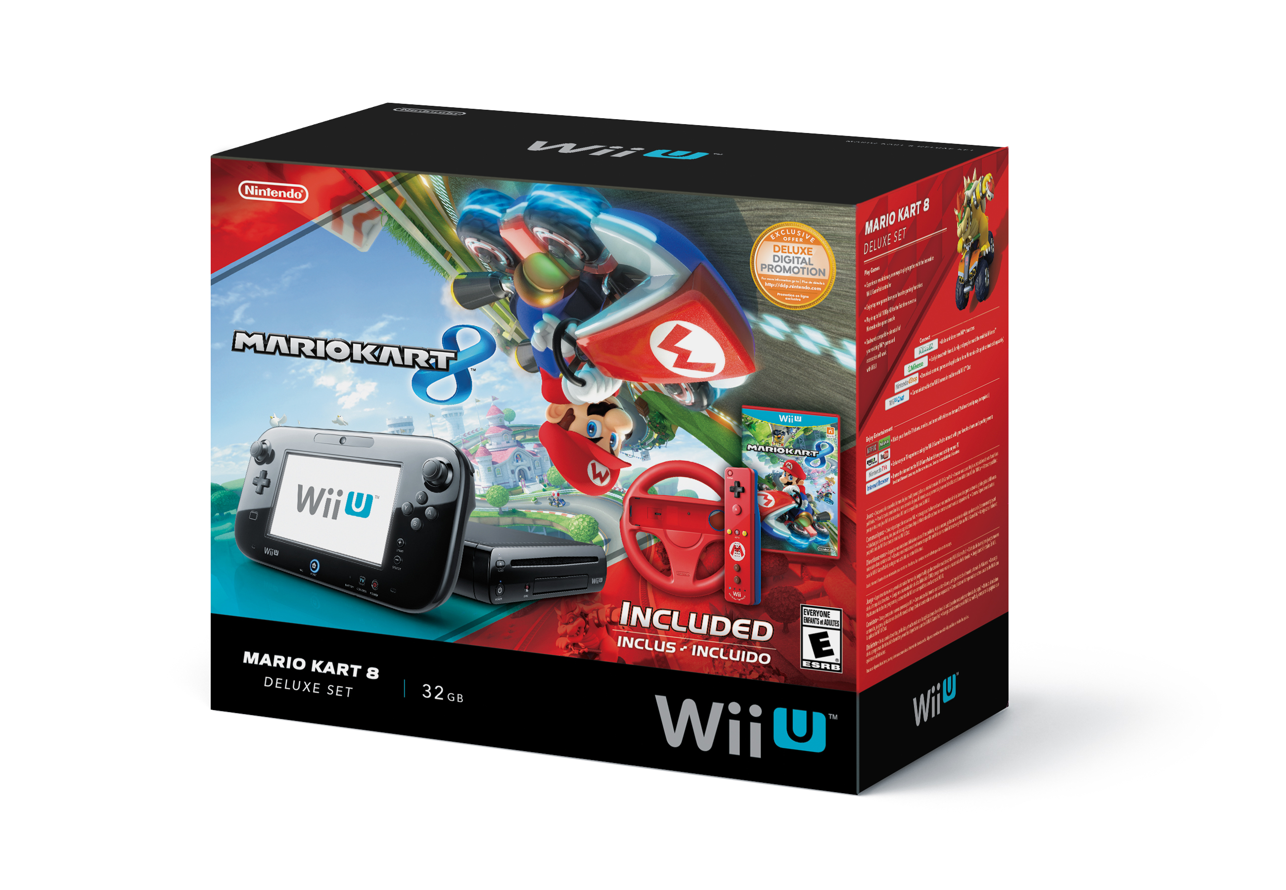 here s a closer look at the us mario kart 8 wii u deluxe. Black Bedroom Furniture Sets. Home Design Ideas