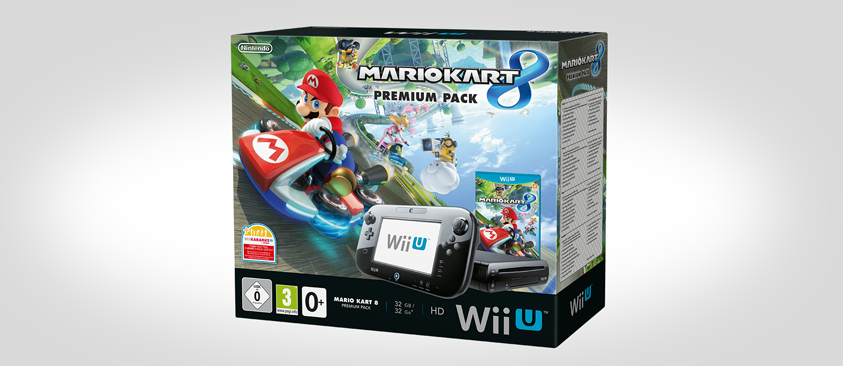 Nintendo europe announces mario kart 8 wii u premium bundle my nintendo news - Mario kart 8 console bundle ...