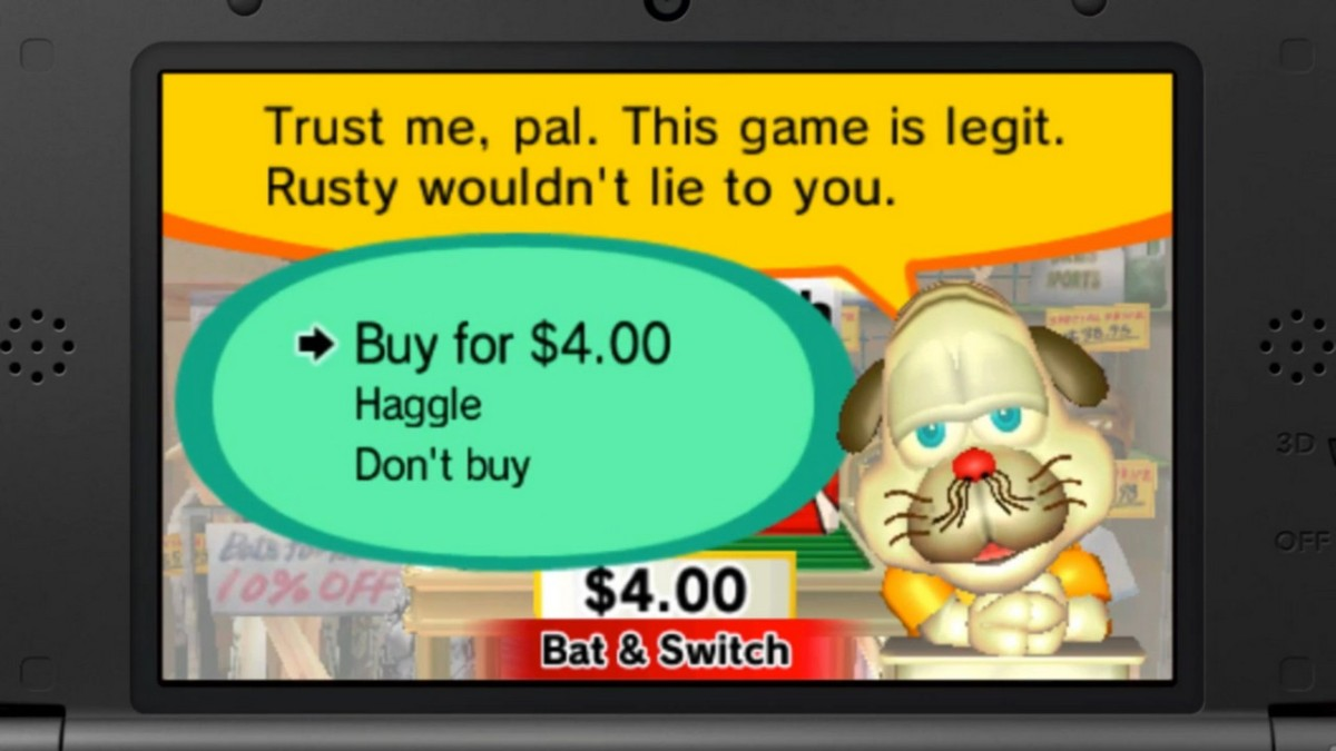Rusty's Real Deal Baseball Trailer Highlights Nontendo 4DSGames