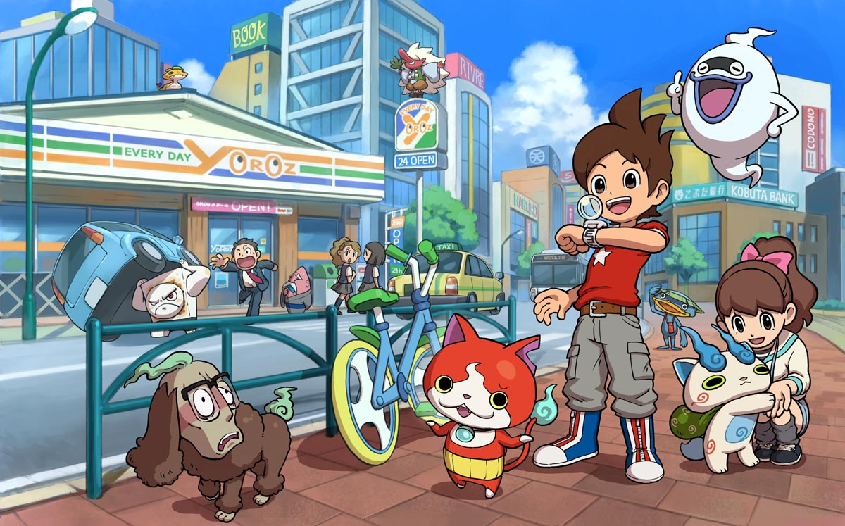 Yokai Watch 2 For Nintendo 3DS Had 814,000 Pre-Orders InJapan