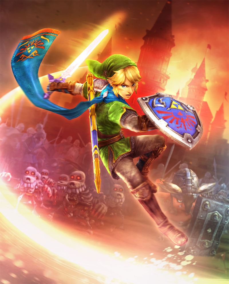 Zelda Wallpapers: Hyrule_warriors_link_fire