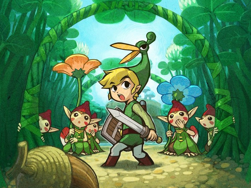 Here's This Week's North American Nintendo Downloads, Includes Zelda Minish Cap