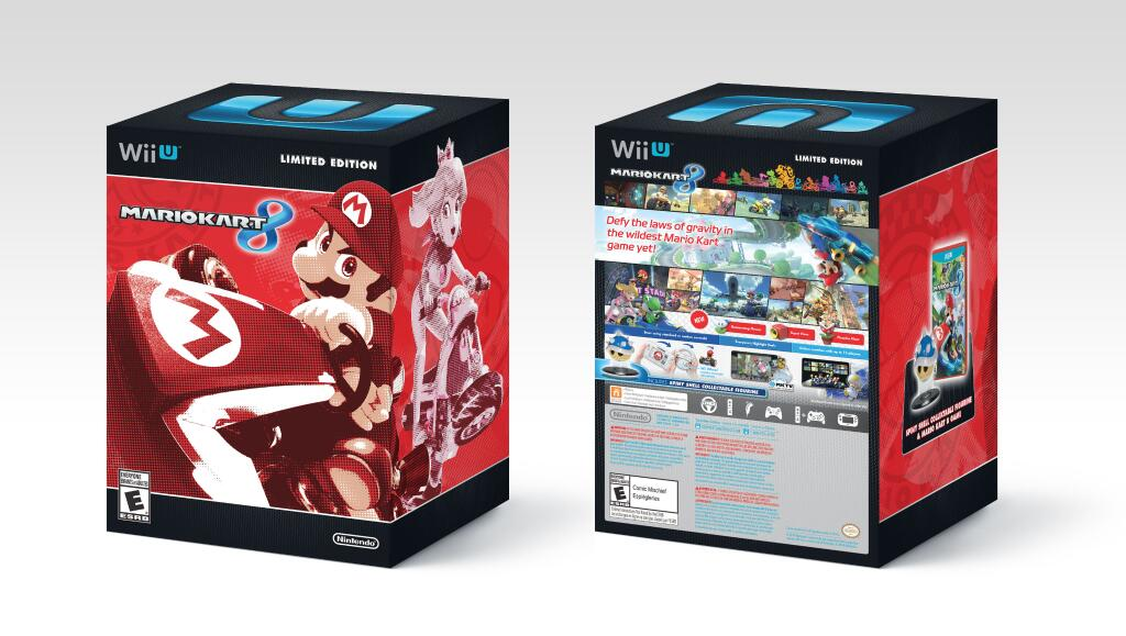 Mario kart 8 limited edition with blue shell is now sold out on game uk website my nintendo news - Mario kart 8 console bundle ...