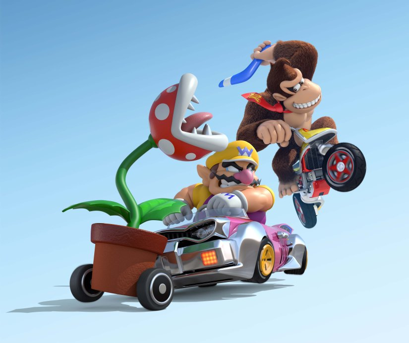 It Looks As Though Namco Bandai Helped Out On Mario Kart 8