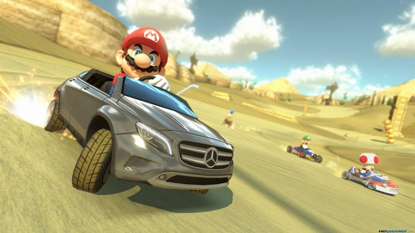 Mario Kart 8 Now Available On Wii U