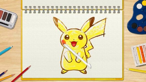 pokemon_art_academy_pikachu