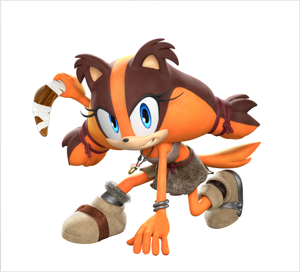 New Sonic Boom Character Announced Called Sticks Video
