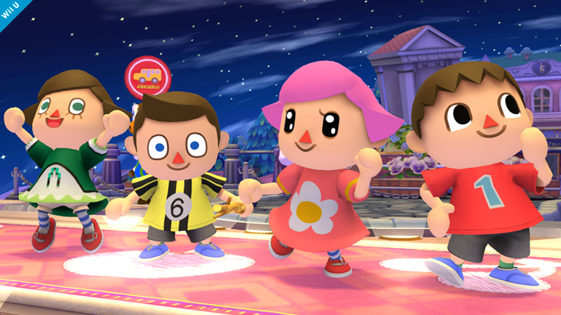 Female Villager Confirmed For Super Smash Bros Wii U And - Animal Crossing Hairstyles