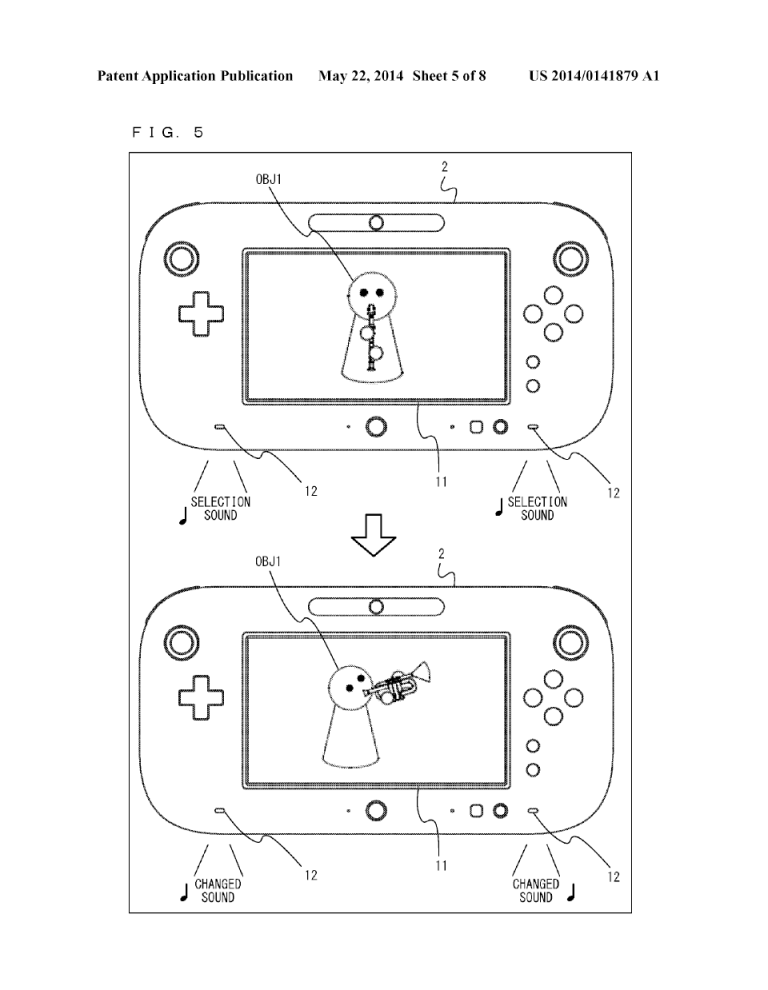 Nintendo Patents What Could Be Wii Music 2 For Wii U