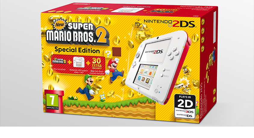New Super Mario Bros 2 Special Edition 2DS Coming To Europe