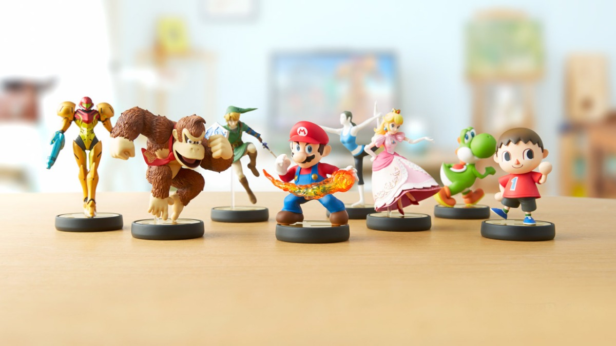 Research Firm Says Nintendo Amiibo Figures Are Among The Most Desired Smart Toys In US,Europe