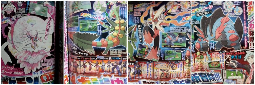 Pokemon Omega Ruby & Alpha Sapphire CoroCoro Reveals, Includes New Mega Evolutions And ORAS Details