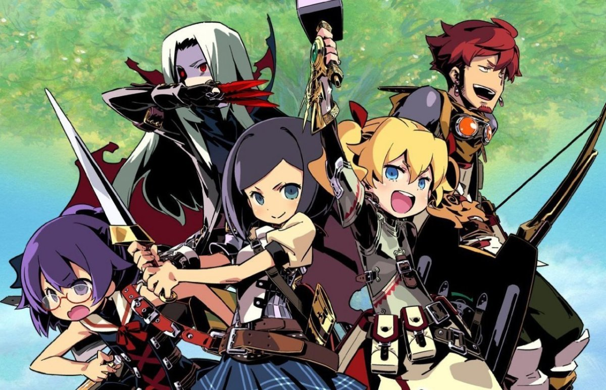 New Etrian Odyssey And Mystery Dungeon Crossover Title Announced For Japanese 3DS