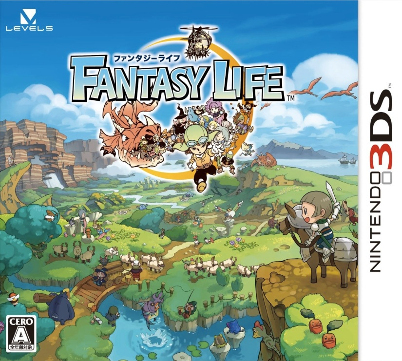 Here's A Look At The Fantasy Life US Box-Art