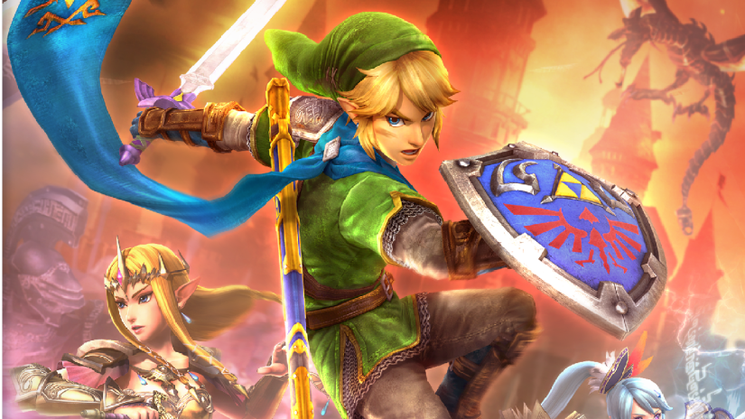Here's A Closer Look At The Hyrule Warriors Box-Art