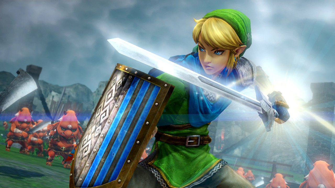 A Stealthy Hyrule Warriors Wii U Update Adds Classic Link My Nintendo News
