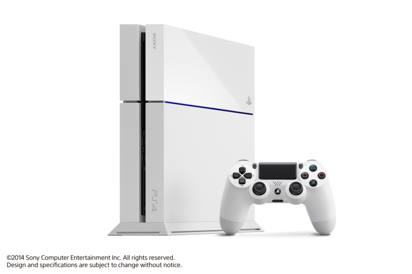 "A Headline In Today's LA Times Reads ""Nintendo's White PlayStation 4 Debuts"""