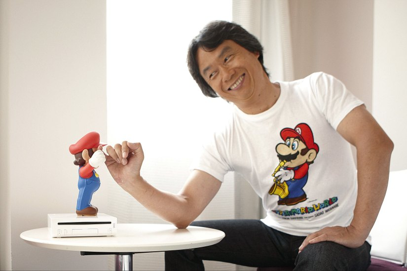 Shigeru Miyamoto Does Yes/No-Style Questionnaire With Nintendo Dream