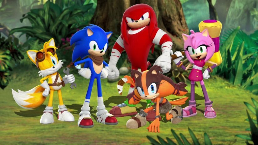 The Sonic Boom TV Series Will Air On November 8th