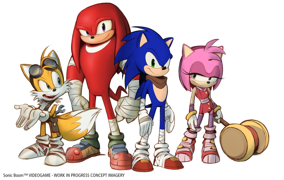 Sega Announces New Characters In The Sonic Boom Universe