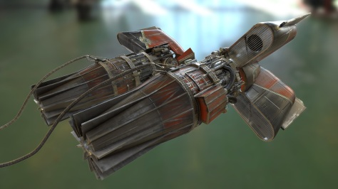 star_wars_pod_racer_unreal_4_craft