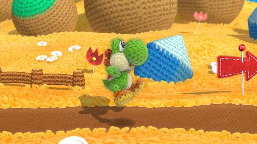 Eurogamer Take A Look At The First Three Worlds Of Yoshi's Woolly World