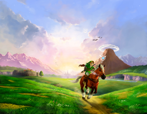 OoT: Epona stars in this great adventure.