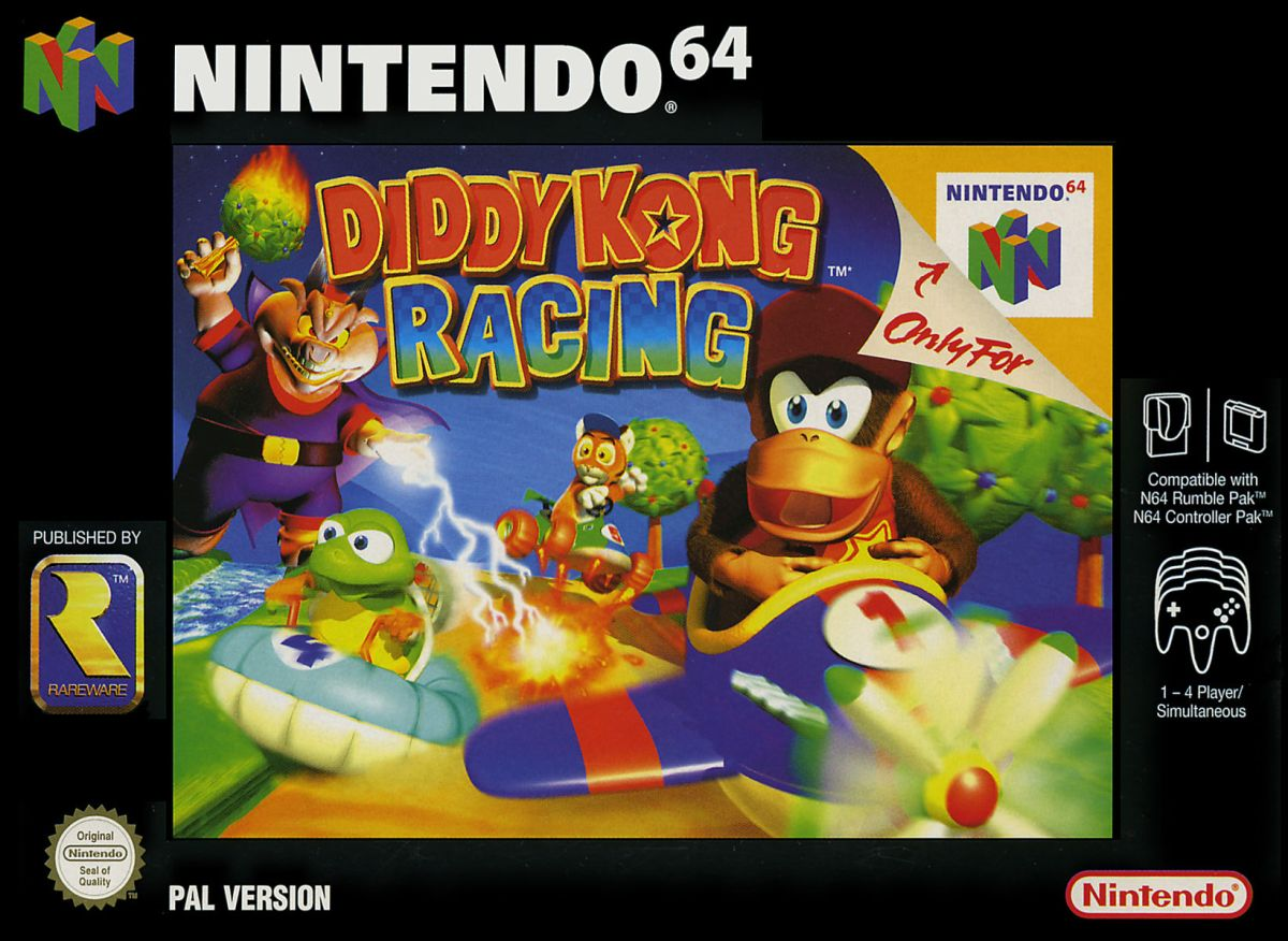"""Nintendo Has Filed A Trademark For """"Diddy Kong"""" InEurope"""