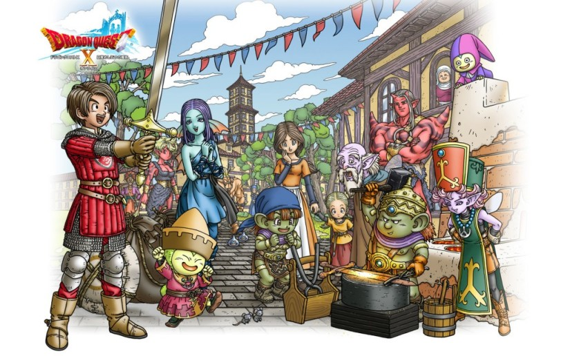 Dragon Quest X Will Receive Physical Release In Japan, No Cartridge Included