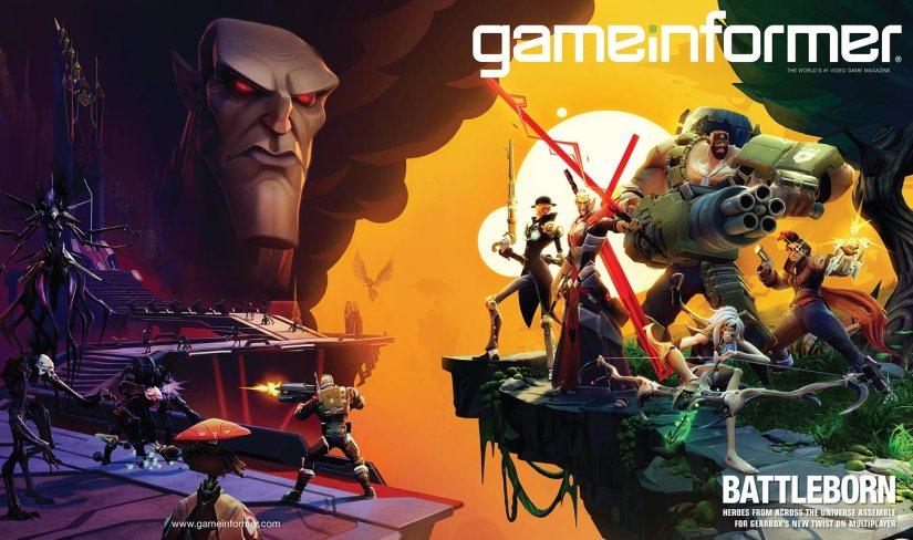 The Game Informer Cover Reveal Was Borderlands Developer Gearbox's Battleborn, But Not For NintendoPlatforms