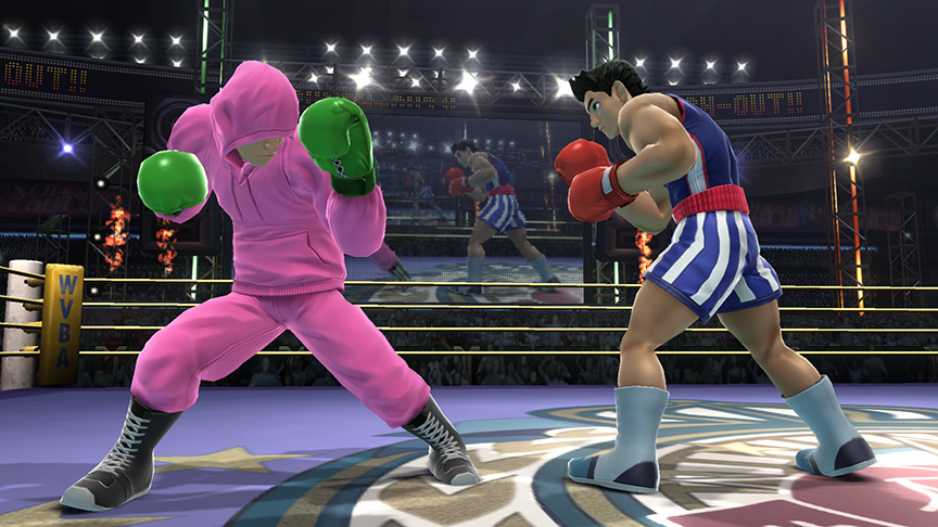 Little Mac Sports Pink Sweatsuit In Latest Smash Bros