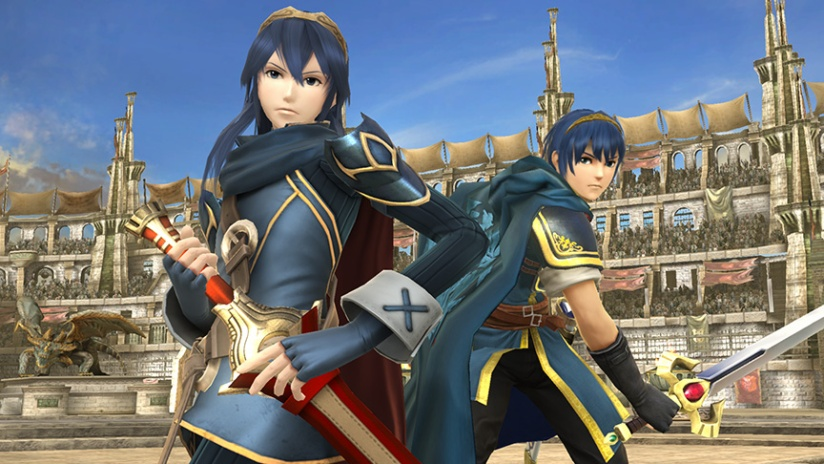 Sakurai Clarifies Lucina's Differences To Marth In Smash Bros Screenshot