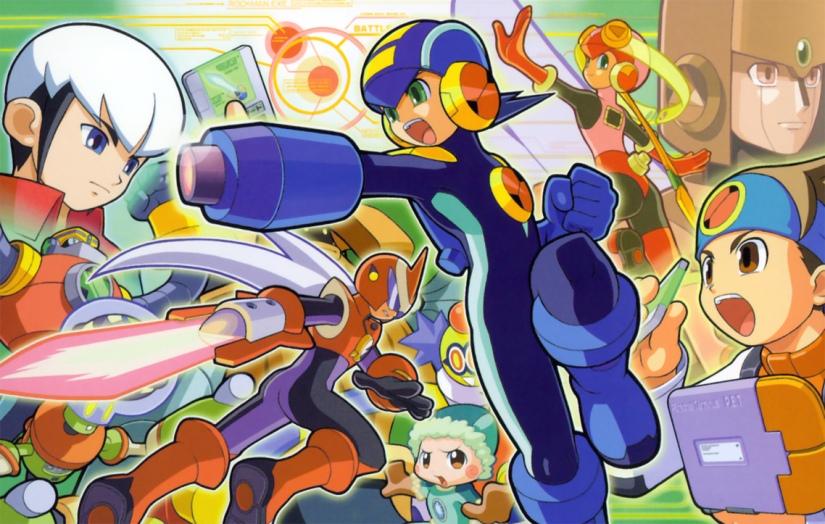 Mega Man Coming To Monster Hunter 4Ultimate