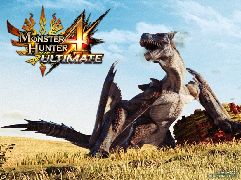 Monster Hunter 4 Ultimate Multiplayer Isn't Region Locked Between North America And Europe