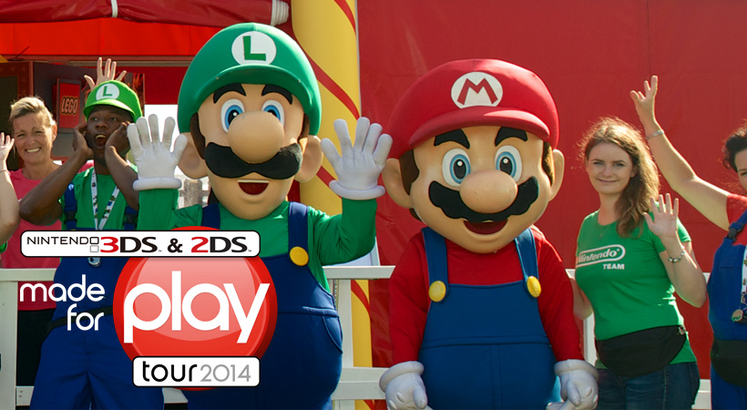 Nintendo uk made for play 2014 tour starts july with 3ds - Can you play 3ds games on 2ds console ...