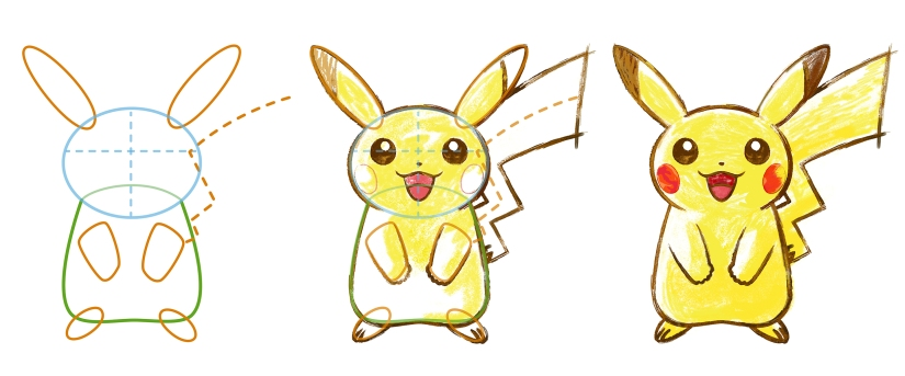 pokemon_art_academy_pikachu1