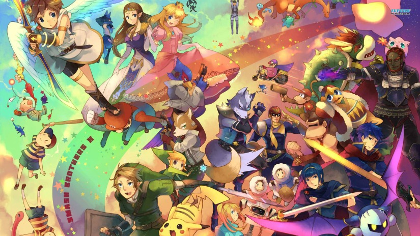 If You're At Comic Con Then Nintendo May Send You A Demo For Smash Bros3DS
