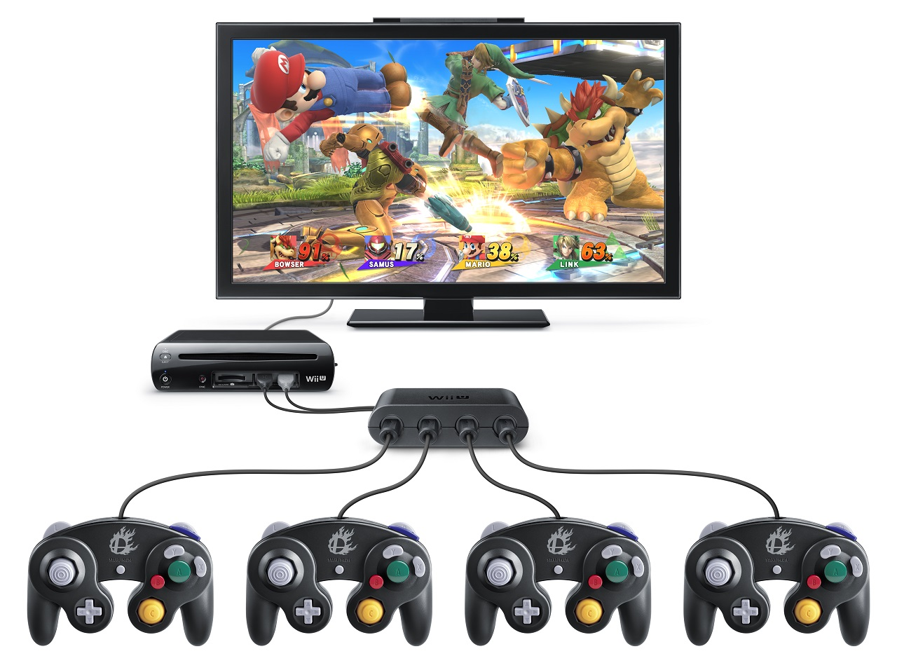 Wii U Can Connect To Two Gamecube Controller Adapters