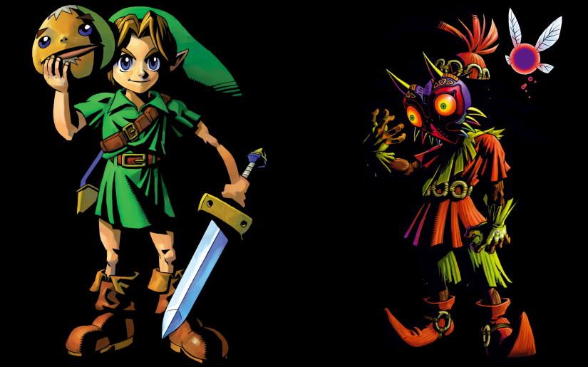 Skull Kid Artwork For Hyrule Warriors Legends