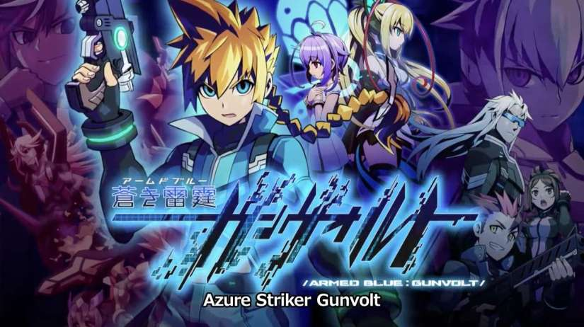 Azure Striker Gunvolt 2 Has Been Announced For Nintendo 3DS