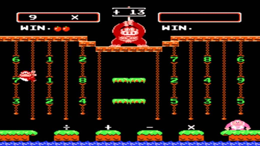 donkey_kong_jr_math_screenshot