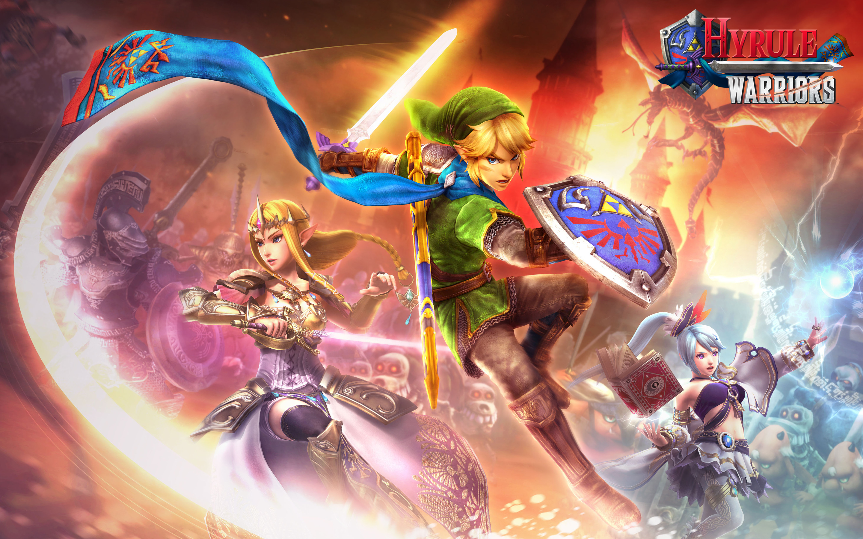 Nintendo Confirms Hyrule Warriors Will Offer Amiibo Support With Link Figure My Nintendo News