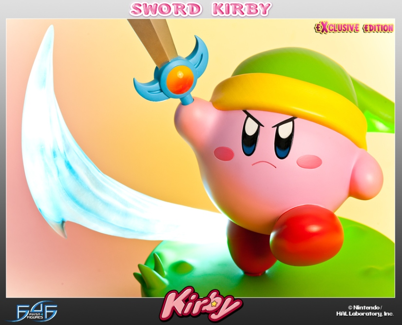 First 4 Figures Has An Adorable Sword Kirby Up For Purchase