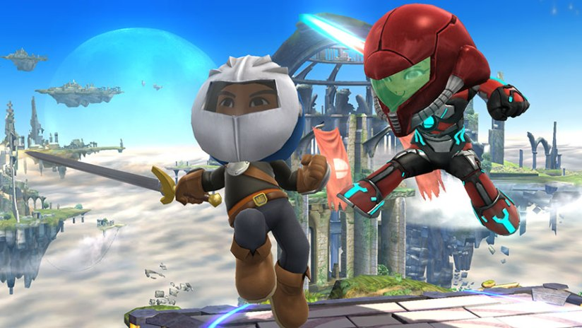 Sakurai Teases Meta Knight's Return With A Mii Fighter Outfit In New Smash Bros Screenshot