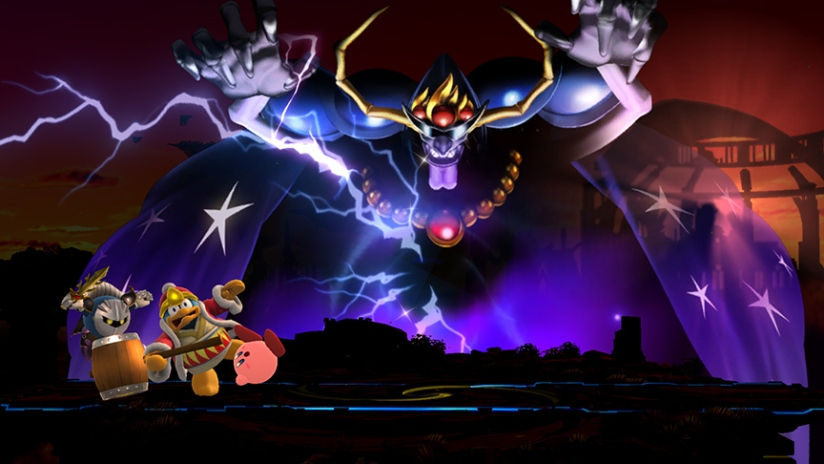 Nightmare Wizard From Kirby Series Is An Assist Trophy In Super Smash Bros