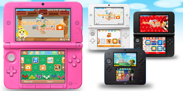 Custom Menu And Background Themes Announced For Nintendo 3DS
