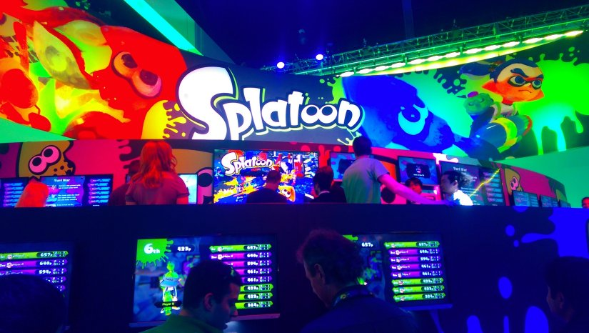 Here's A Look At The Splatoon US Box Art