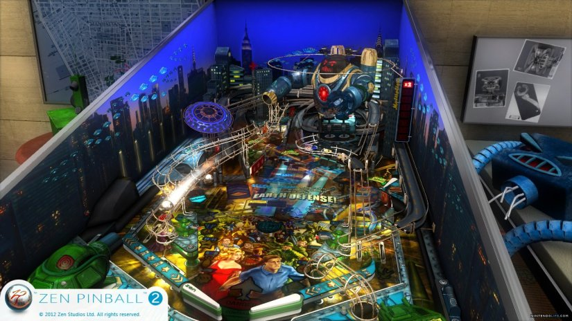 Zen Studios Has New Tables For Zen Pinball 2 On Wii U