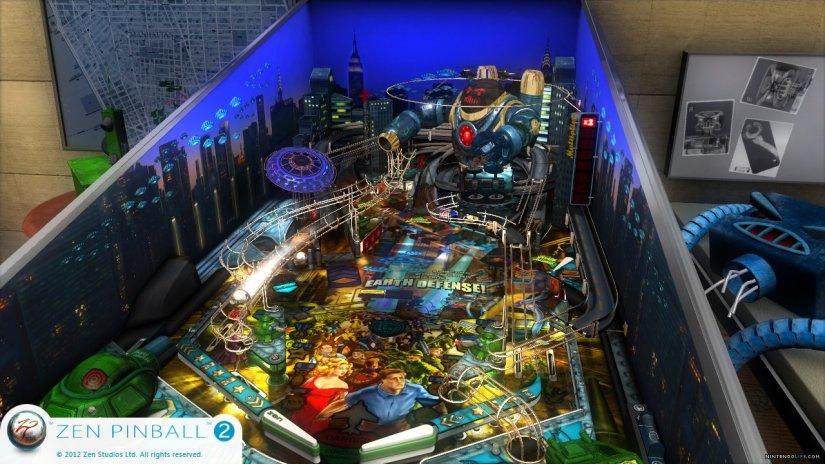 Zen Studios Has New Tables For Zen Pinball 2 On WiiU